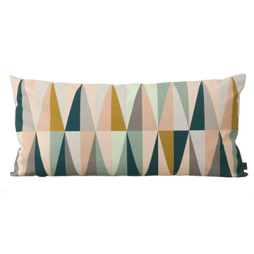 ferm Living - Spear Cushion large, 80 x 40 cm, multicolour