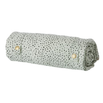 Dot Blanket Mini 80 x 80 cm by ferm Living in Mint