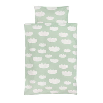 Cloud Kids Bedding by ferm Living in Mint