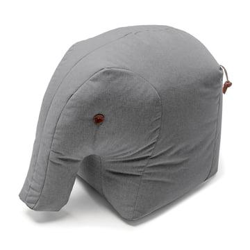 Stuffed elephant Elmar with trunk