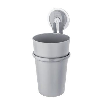 Koziol - Toothbrush Cup Loop, cool gray