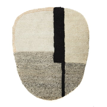 Nudo Rugs out of Wool by Ames