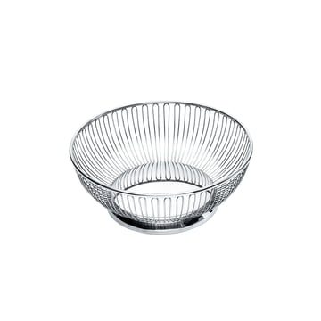 826 Wire Basket by Alessi, round Ø 15 cm