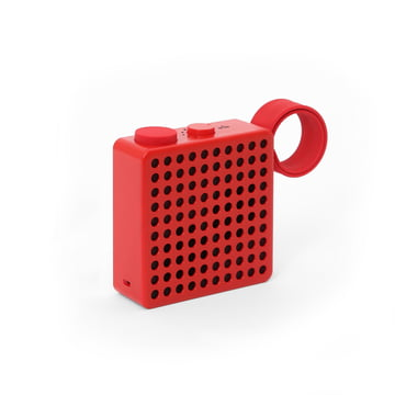 The Monkey - Radio / Speaker by Palomar in Red