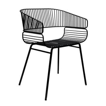 Trame chair by Petite Friture in black