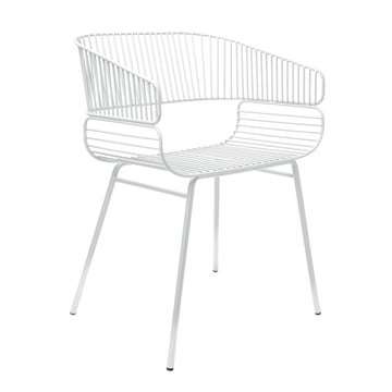 Trame Chair by Petite Friture in White