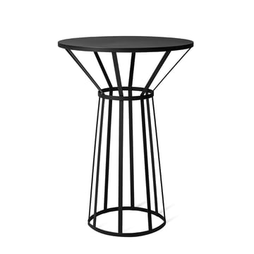Hollo Bistro Table by Petite Friture in Black