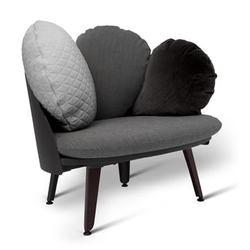 Nubilo Chair by Petite Friture in Black / Gray