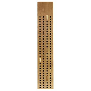 The We Do Wood - Scoreboard Coat Rack, Vertical in Natural Oak