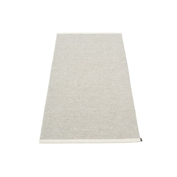 Mono Rug 60 x 150 cm by Pappelina in Fossil Grey / Warm Grey