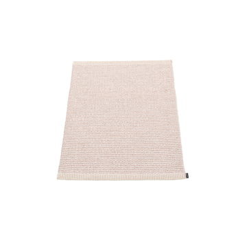Mono Rug 60 x 85 cm by Pappelina in Pale Pink / Ballet Pink