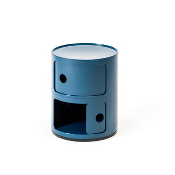 Componibili 4966 by Kartell in blue