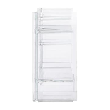 Kartell - Sound-Rack storage unit, clear glass