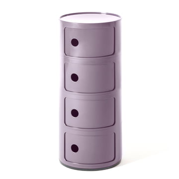 Componibili 4985 by Kartell in purple