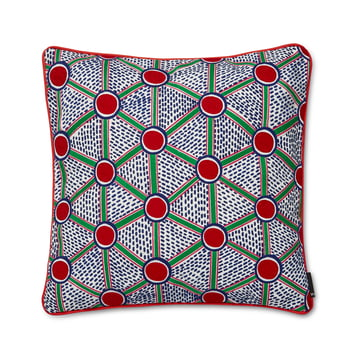 Hay - Embroidered Cushion, 50 x 50 cm, Cells