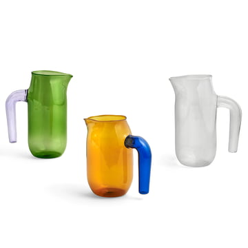 Glass Jug by Jochen Holz for Hay