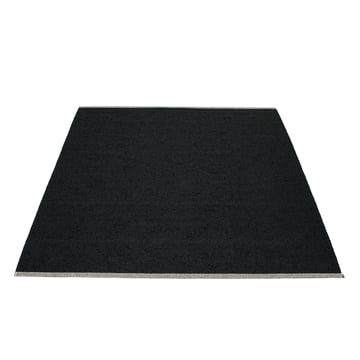 Bob Rug, 180 x 220 cm, by Pappelina in black