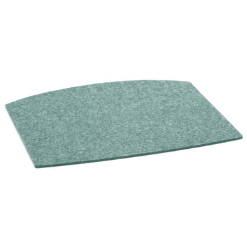 Hey Sign - Felt Cushion Arper Catifa 46 Chair, aqua / 5mm