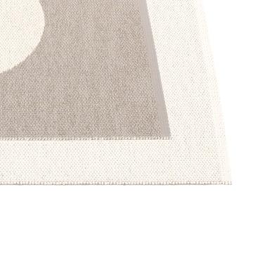 Vera Reversible Rug by Pappelina in Mud / Vanilla