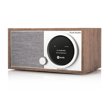 Tivoli Audio - ART Model One Digital Radio, walnut / grey