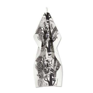 Veljekset Tea Towel by Marimekko in black / white