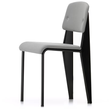 Standard SR by Vitra in Black / Iron Grey Volo (14)