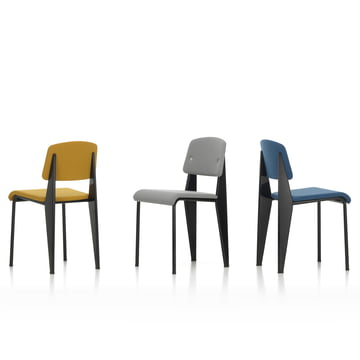 Jean Prouvé's Standard SR Chair by Vitra