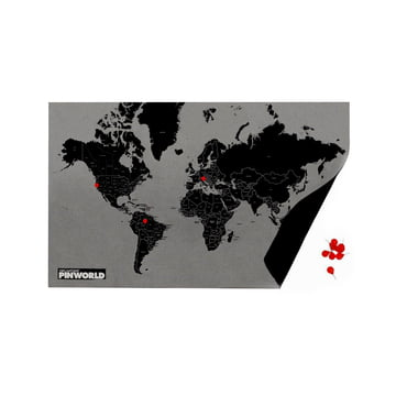 Palomar - Pin World by Countries, black / mini
