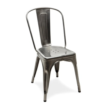 A Chair by Tolix in Varnished Steel