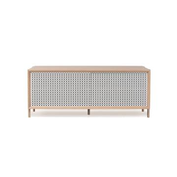 Hartô - Gabin Sideboard 122 cm, light grey (RAL 7035)