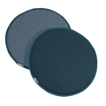 Vitra - Seat Dots, nero / ice blue