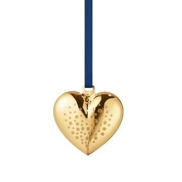 Christmas Heart 2017 by Georg Jensen, gold