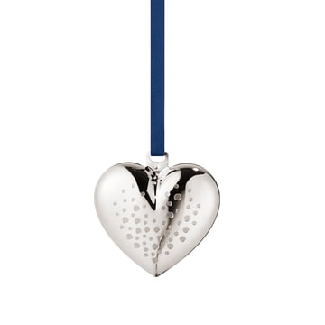 Christmas Heart 2017 by Georg Jensen, palladium