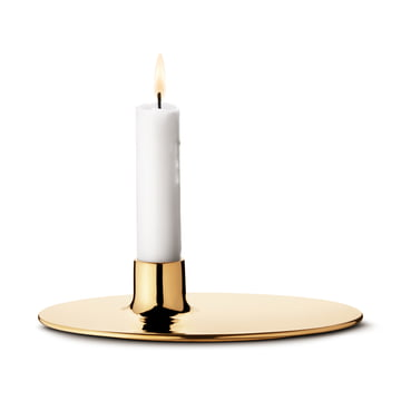 Ilse Candleholder by Georg Jensen out of Brass