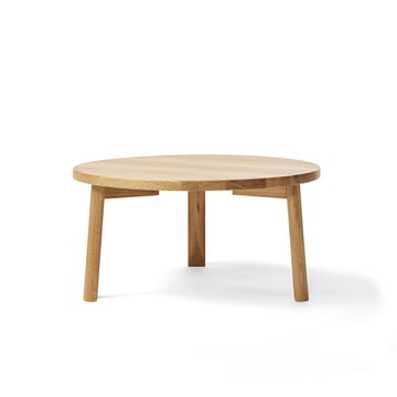 Million - Ease Coffee Table Ø 70 cm, natural oak