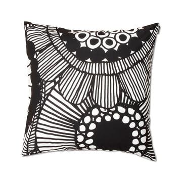 Siirtolapuutarha Cushion Cover 50 x 50 cm by Marimekko in Black / White