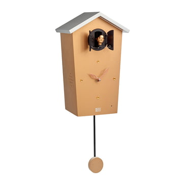 Bird House Cuckoo Clock, gold (Limited Edition)