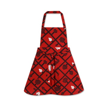 Spaljé Apron by Marimekko in Red