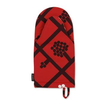 Spaljé Oven Mitt by Marimekko in Red