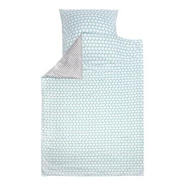 Bed Linen Clover by byGraziela in Blue / Grey