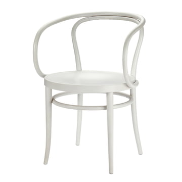 209 Bentwood Chair by Thonet in White