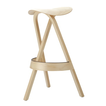 404 H Barstool by Thonet in Natural Beech (TP 17)