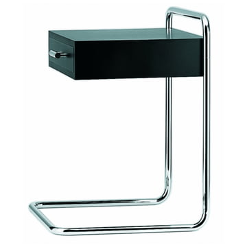 B 117 Side Table by Thonet in Deep Black (RAL 9005)