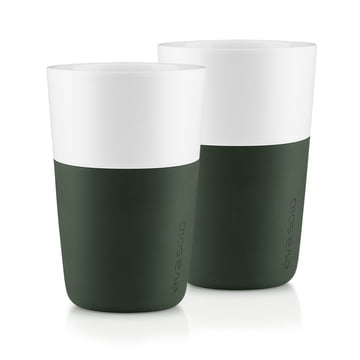 Eva Solo - Caffé latte cup (set of 2), forest green