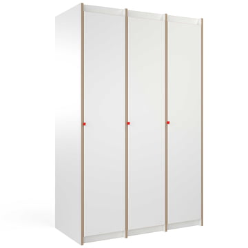 The Tojo - steh Cupboard with Two Add-On Modules