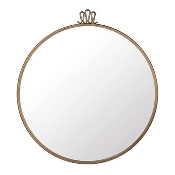 Gubi - Randaccio Wall Mirror Ø 60 cm, vintage brass