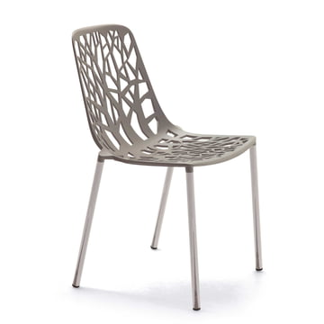 Forest Stacking Chair by Fast in Taupe