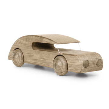 Sedan car 27 cm by Kay Bojesen in natural oak