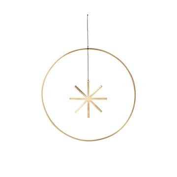 Winterland Brass Star Ornament Ø 25 cm by ferm Living