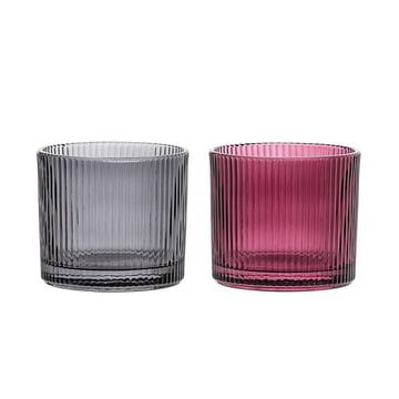 Tealight Holder (Set of 2) by Bloomingville